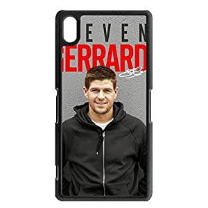 Personal FC Liverpool Steven Gerrard Cell Phone Case Contracted Pattern Sony Xperia Z2 Phone Case