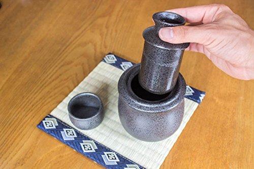 Sake Warmer Set Mino Ware