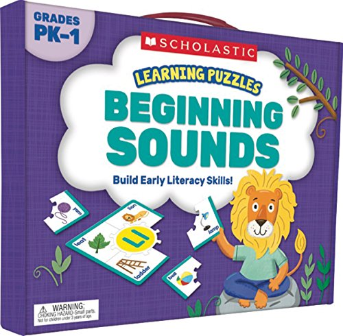 Learning Puzzles: Beginning Sounds -