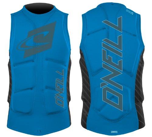 O'Neill Gooru Padded Impact Vest - Blue/Black