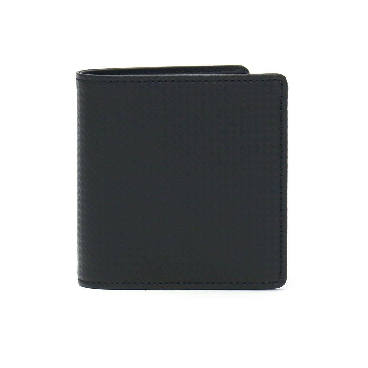 [ノイインテレッセ]Neu interesse シャッテン Schatten 二つ折り財布 3899 B07D2YXRNC ブラックxブラック(01) ブラックxブラック(01)