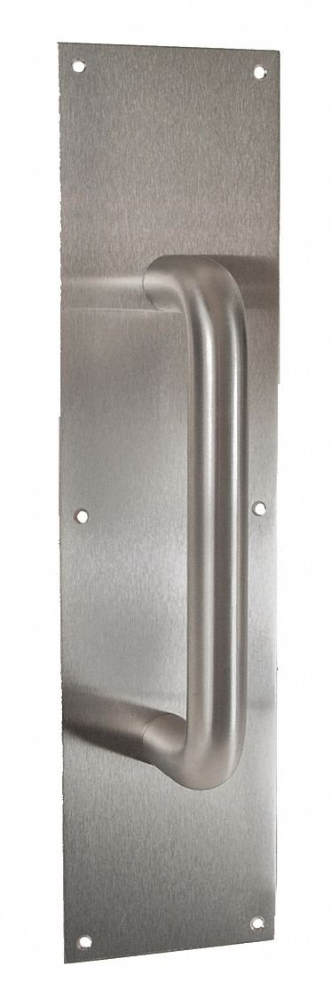 DOOR PULL PLATE 3.5X15'' W/ 8'' CTC PULL