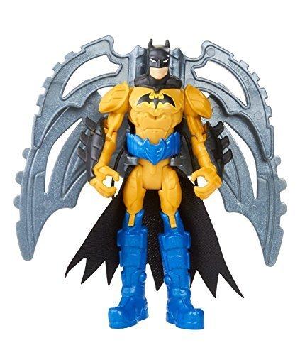 "Batman w/ Wing Zip ~4"" Mini-Action Figure: Batman Unlimited Basic Figure + Accessories Series"