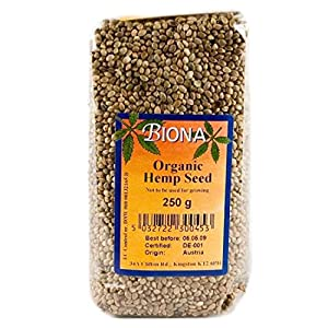 Biona | Hemp Seeds | 8 x 250G