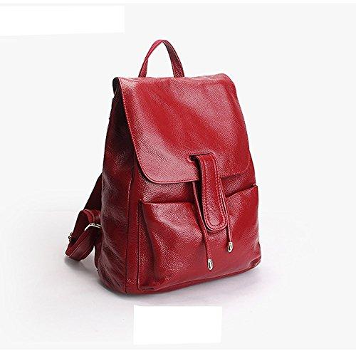 Valin en Sac main femme dos fashion Rouge portés LF Sac 33038 cuir à YwwxqZUfr