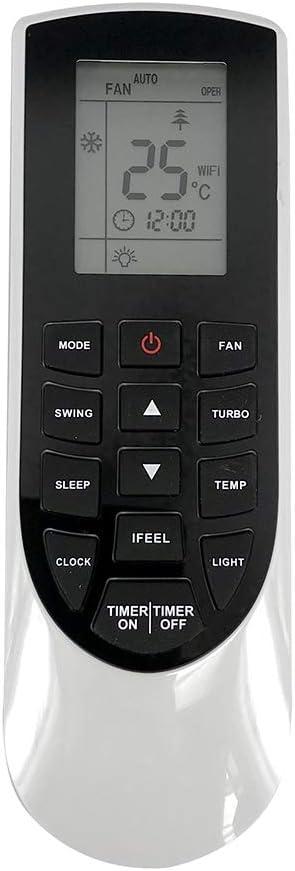 Lands YAN1F1F YAN1F1 Air Conditioner Remote Control For GRS//GREE//SHARP AY-X36RU XV-4790 VIR09HP115V1AH VIR12HP230V1AH VIR24HP230V1AH VIR36HP230V1AH Air Conditioning