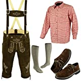 German Bavarian Oktoberfest Trachten Lederhosen Complete Outfit (40)
