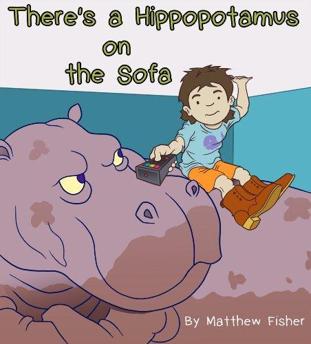 There's a Hippopotamus on the Sofa (Hippopotamus Sofa)