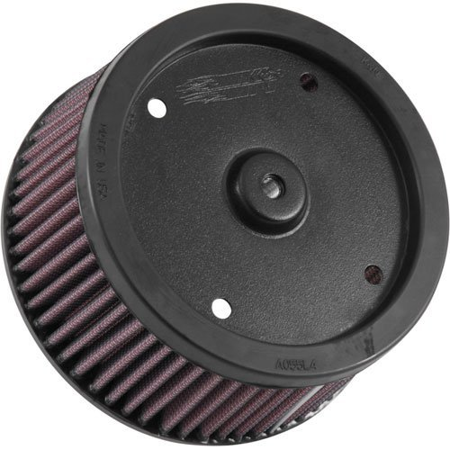 K&N Engineering HD-0918 High Flow Air Filter for 58mm Throttle Bodies ()