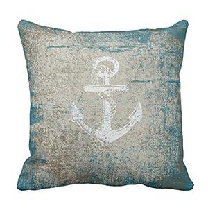 516Hd7ijyXL._SS300_ 100+ Nautical Pillows & Nautical Pillow Covers