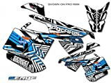 Senge Graphics 2015-2017 Polaris AXYS SWITCHBACK 137'' tunnel wrap Mayhem Sky Blue