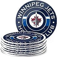 Mustang Products Winnipeg Jets 8 Pack Team Logo Coaster Set