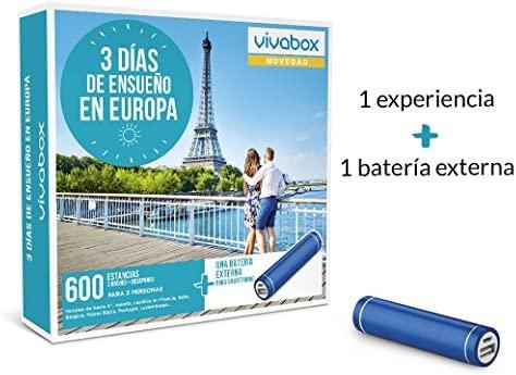 VIVABOX Caja Regalo -3 DIAS DE ENSUEÑO EN Europa- 600 ...