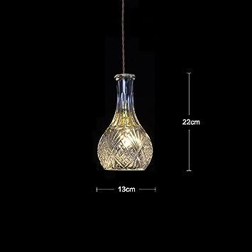 DHG Sola lámpara de Cristal de Cristal, Restaurante Bar Bar ...