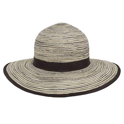 609461bf Solar Escapes UV Sierra Hat (ONE Size) (Black Pepper)