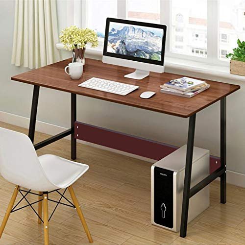 Ship from USA - Sttech1 Desktop Simple Desk Simple Desk Computer Desk Office Desk Study Table Workstation for Home Office, Easy to Operate 47.3×21.7Inch - Table Work Mobile Tilting Positioning