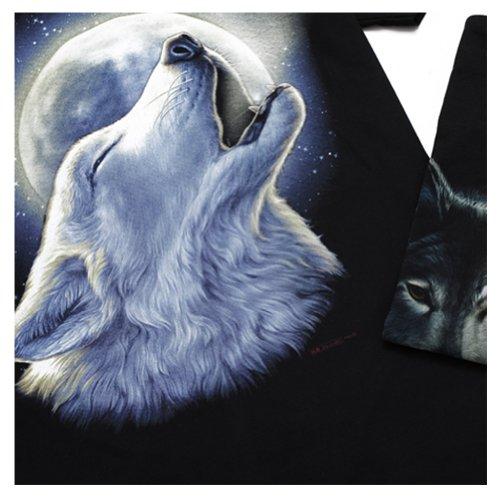 Homme Wolf style3 shirt Amurleopard T gqnxn4waEC