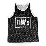 WWE NWO Retro Black & White Chalk Line Tank Top Medium