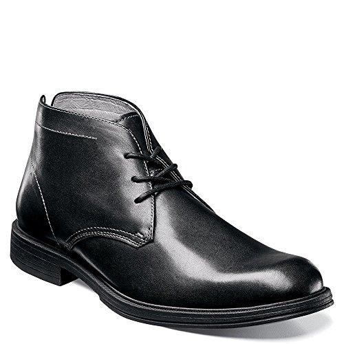 Florsheim Mens Mogul Chukka Boot Ii Black Smooth Leather Us 10 3E