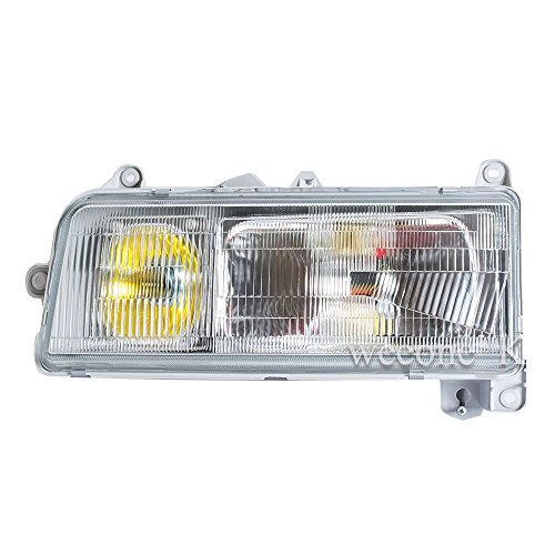 Aftermarket Parts K1AutoParts 1 Left Side Front Headlight Headlamp Head Light Lamp for Hino Ranger FA FB FC FD FE Truck - Headlamp 1994