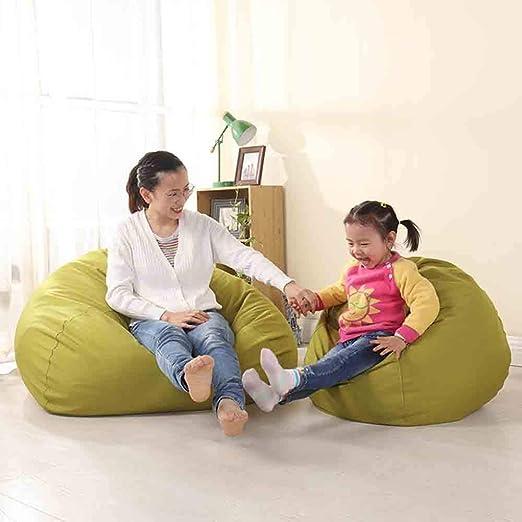 XUE Silla con Bolsa de Frijoles, sofá Lavable de Gran tamaño y Muebles de tumbonas Gigantes para niños Adolescentes y Adultos Juegos de Mesa Jardín Interior y Exterior: Amazon.es: Hogar