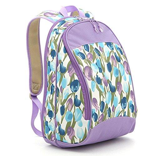 Bolso de hombro simple, bolso de la momia, sale el bolso, bolso de la madre, bolso multiusos del bebé del hombro, bolso femenino de la capacidad grande ( Color : Azul oscuro ) Purple