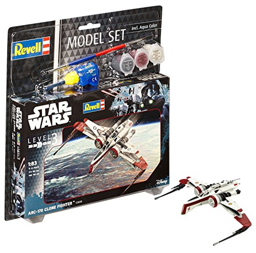 Revell Star Wars Rogue One Set Arc-170 Fighter Model Set ()