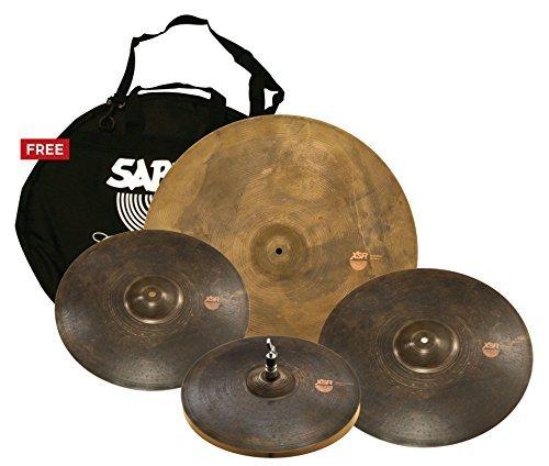 Sabian XSR Monarch Pack 15 Monarch Hi hats 17/19 Monarch 22 Monarch with free cymbal bag XSR5005M [並行輸入品]   B07M6CZVYB