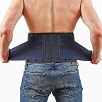 Back Support Lower Back Brace – provides Back Pain Relief...