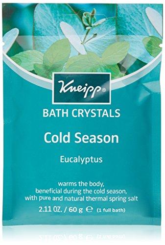 Kneipp Mineral Bath Salt Sachet, Cold Season Relief, Eucalyptus, 2.1 fl. oz.