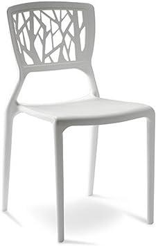Designetsamaison Chaise Design Blanche Verdi