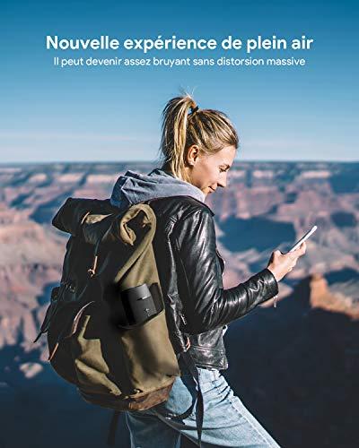Enceinte Bluetooth Portable, Votomy 30W TWS HiFi Stéréo et Basses, étanche IPX7 avec 12 Heures Playtime, Haut Parleur Bluetooth 5.0 et Micro Intégré