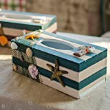 New Product New Product!Mediterranean style Wooden Tissue Boxes, organizador paper towels ornaments napkin holder home decor carfts