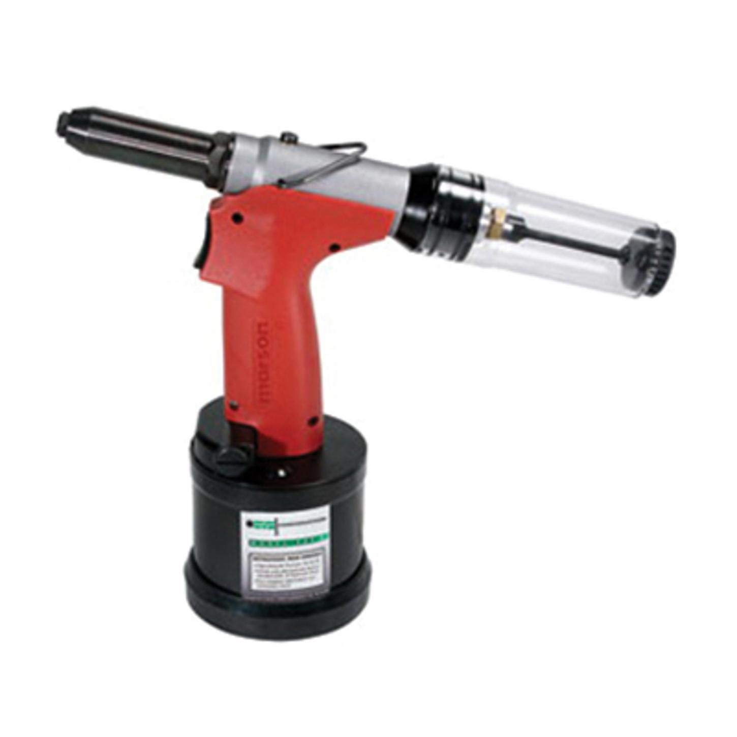 MARSON Air/Hydraulic Rivet Installation Tool - Model: 39045 Diameter Range: 1/8'' to 3/16'' Recommended Airline Pressure: 85-95 PSI