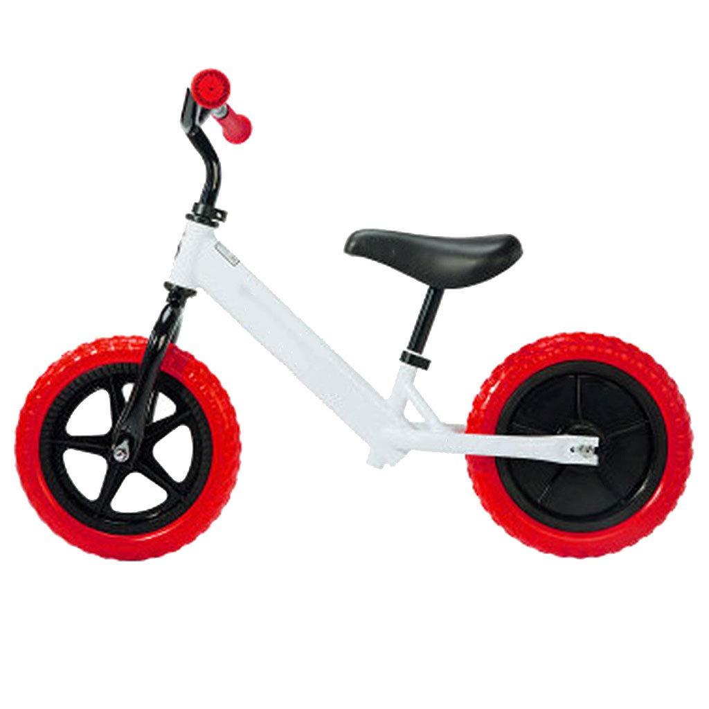 バランスバイク多機能アルミ合金軽量滑り止め耐久安全快適  Red B07PKCZ9FV