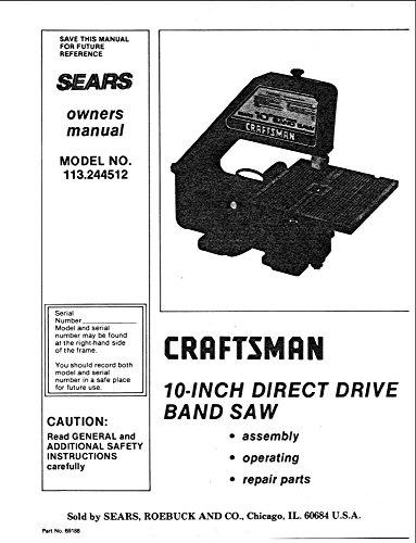Craftsman 113.244512 10