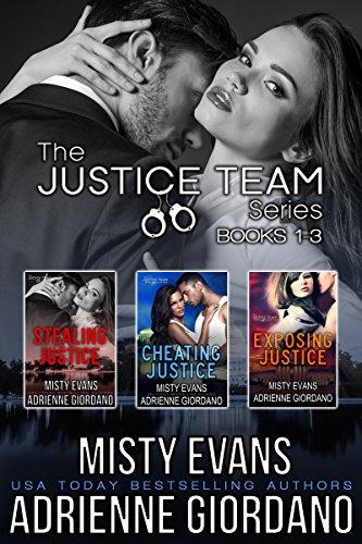 (The Justice Team Romantic Suspense Series Box Set (Vol. 1-3) )