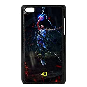 NBA Oklahoma City Thunder Kevin Durant background Ipod Touch 4 Hard Shell Cover Case