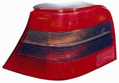 Carparts-Online 14801R Rot schwarze R/ückleuchte GTI rechts