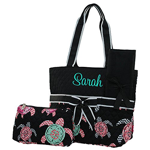 Quilted Diaper Bags Personalized - 3