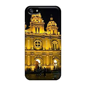 phone covers Sanp On Case Cover Protector For iPhone 5c (cathedral At Night)