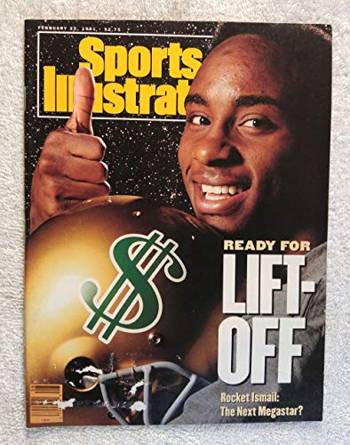 Raghib Rocket Ismail - Ready for Lift Off - Notre Dame Fighting Irish - Sports Illustrated - February 25, 1991 - College Football - SI