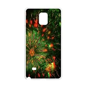 Brilliant fireworks Design Top Quality DIY Hard Case Cover for Samsung Galaxy Note 4, Brilliant fireworks Galaxy Note 4 Phone Case