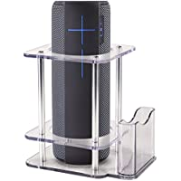For UE MEGABOOM Speaker Stand, Multifunctional Bluetooth Speaker Holder to Protect your UE MEGABOOM Speaker (Clear)