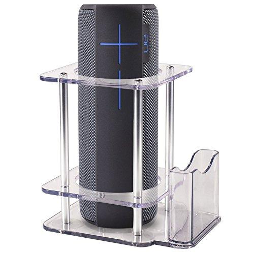 For UE MEGABOOM Speaker Stand, Multifunctional Bluetooth Speaker Holder to Protect your UE MEGABOOM Speaker (Clear) by HOLACA