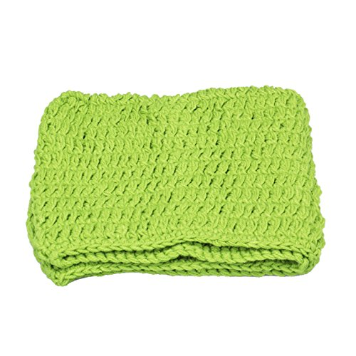 - Guyay Newborn Crochet Knitted Sleeping Bag Chunky Cocoon Nest Baby Pod Bowl Photography Prop (Green)