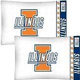 NCAA Illinois Fighting Illini Football Two-Pack Pillowcases