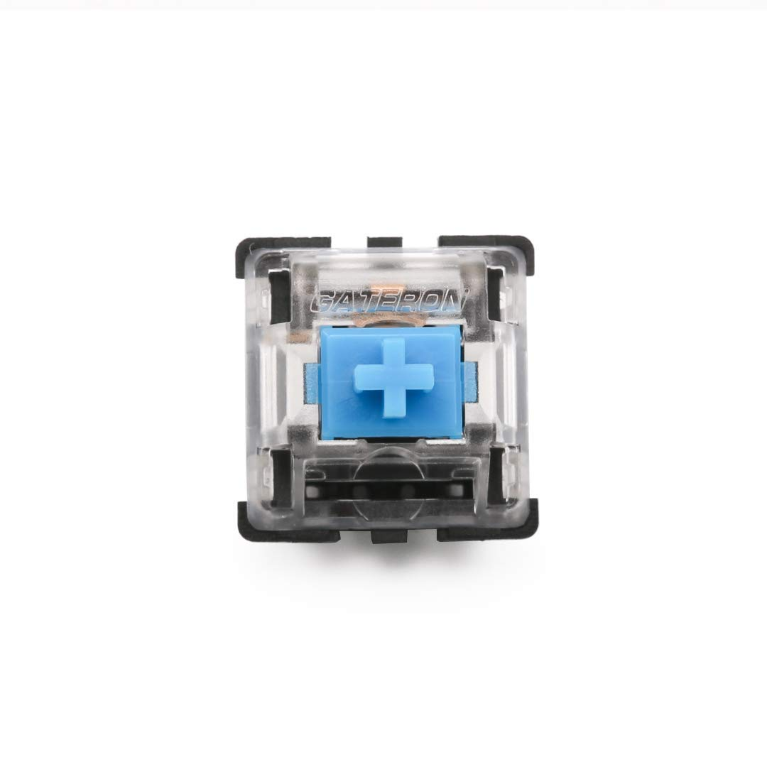 Gateron mx Blue Switch 3 pins with Transparent case for: Amazon.in:  Electronics