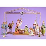Patience Brewster Christmas Mini Nativity Set of 13 Figurine