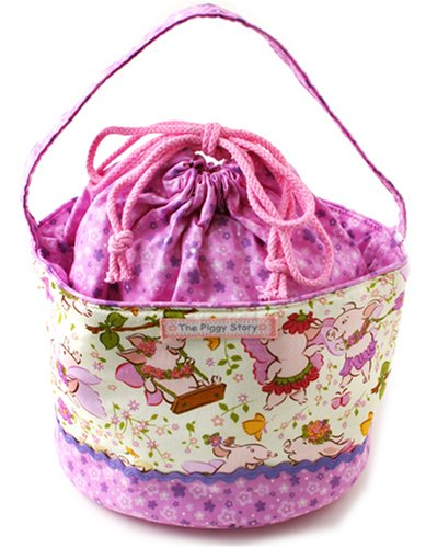 Piggy Story Lunch Tote Piggy Fairy pg0006-01 (japan import)